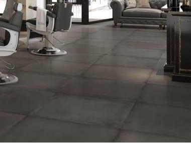 Pavimento in gres porcellanato effetto cemento ORIGINI N