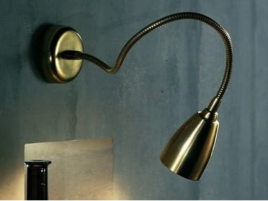 Brass wall lamp / ceiling lamp ORION F1