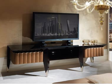 Low lacquered wooden TV cabinet ORION | TV cabinet