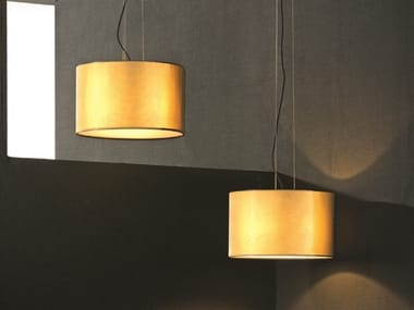 Direct-indirect light brass pendant lamp ORLY | Brass pendant lamp