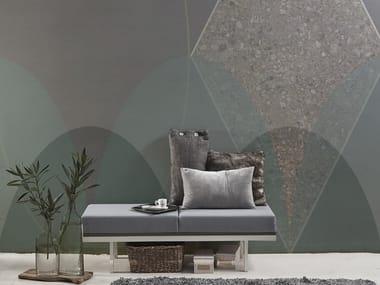 Geometric vinyl wallpaper ORN18_007 | Wallpaper