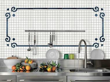 Indoor/outdoor polyurethane mosaic ORNAMENT FRAME