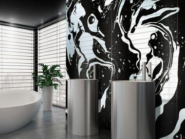 Tempered glass Decorative panel ORO LIQUIDO