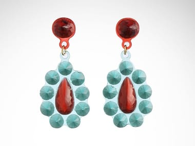 Resin earrings OSCAR N PREMIER
