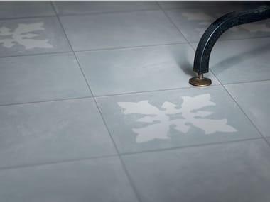 Pavimento/rivestimento in gres porcellanato OSSIDI CELESTE