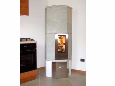 Wood-burning natural stone stove OTA2 | Natural stone stove