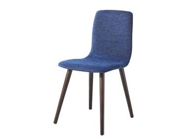 Upholstered beech chair OTIS UPHOLSTERED | Chair