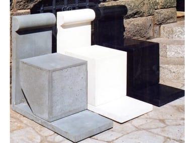 Cement outdoor chair LOOK | Outdoor chair