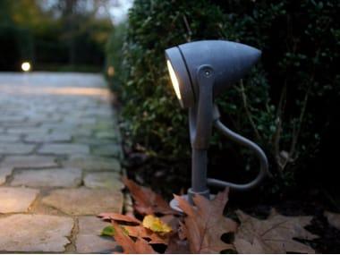 Proiettore per esterno orientabile in zinco BULLET | Proiettore per esterno