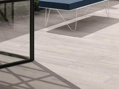 Porcelain stoneware outdoor floor tiles with wood effect LOFT | Outdoor floor tiles