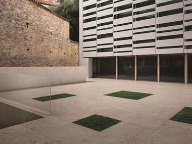 Porcelain stoneware outdoor floor tiles with stone effect STONE CONCEPT | Outdoor floor tiles with stone effect
