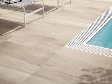 Porcelain stoneware outdoor floor tiles with stone effect GEOSTONE | Outdoor floor tiles with stone effect