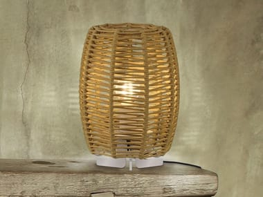 Rope table lamp / Outdoor table lamp POMA | Table lamp