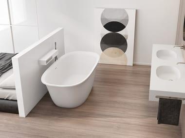 Vasca da bagno centro stanza ovale BETA ESSENTIAL | Vasca da bagno ovale