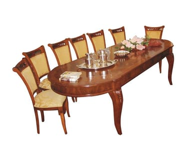 Extending oval table REGGENZA | Oval table