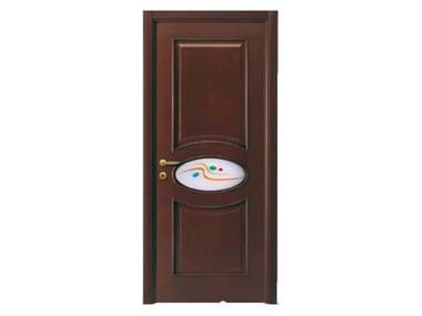 Hinged wood veneer door OVALE | Glass door  sc 1 st  Archiproducts & Wood veneer Glass doors | Archiproducts