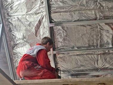 Isolante termoriflettente ignifugo / barriera al vapore OVER-FOIL NEST