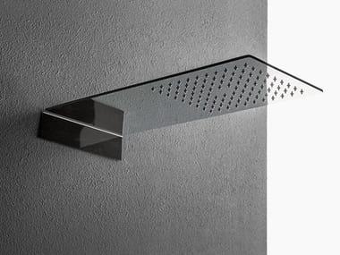 Soffione doccia a muro in acciaio inox Soffione doccia in acciaio lucido