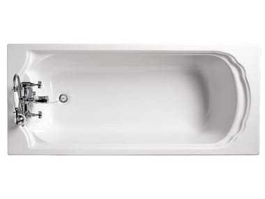 Rectangular fiberglass bathtub OXFORD | Bathtub
