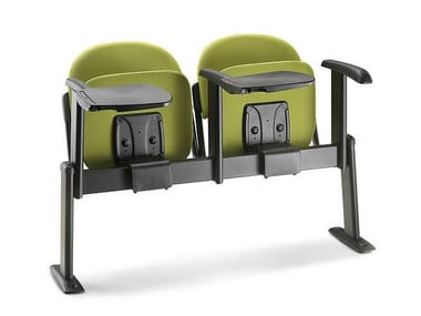 Freestanding beam seating with writing tablet OXFORD | Beam seating
