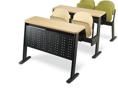 Modular wooden study table OXFORD | Bench desk