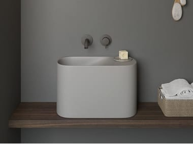 Countertop Korakril™ handrinse basin P'TIT | Countertop handrinse basin