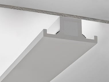 Plaster linear lighting profile P10