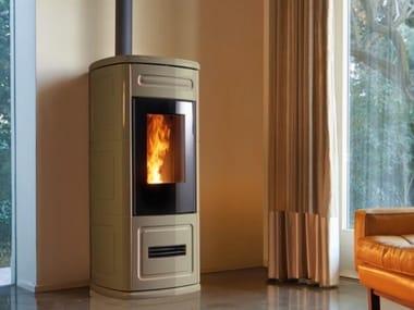 Pellet faïence stove P230 C