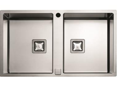 2 bowl stainless steel sink P2B 8651 QA F-SF | Sink