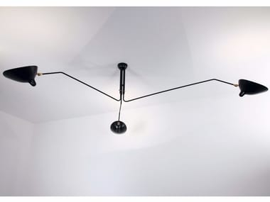 Lampada da soffitto orientabile in metallo P3B | Lampada da soffitto
