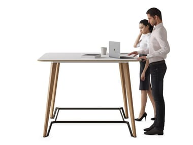 Rectangular high table P45 | High table