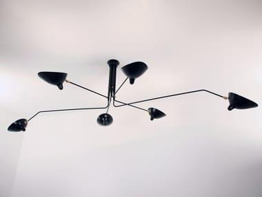 Adjustable metal ceiling lamp P6B   Ceiling lamp