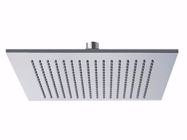 Tête de douche à effet pluie de plafond en laiton avec système anti-calcaire PABLOLUX - F1701