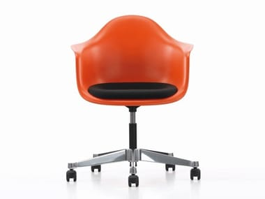 Swivel office chair with castors PACC | Office chair