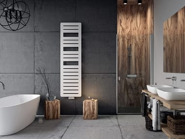 Vertical steel towel warmer PAGE