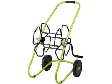 Garden maintenance equipment Painted metal hose reel