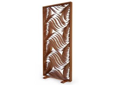 Wood veneer room divider PAISLEY