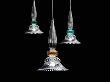 Lampada a sospensione a LED in cristallo PALAZZO DUCALE | Lampada a sospensione a LED