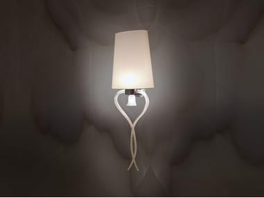 Lampada da parete a LED in tessuto PALAZZO DUCALE | Lampada da parete