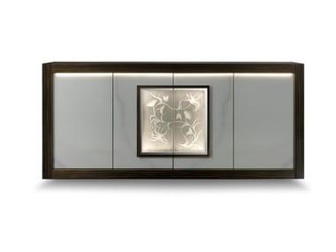 Madia laccata in legno con illuminazione integrata PALAZZO DUCALE | Madia