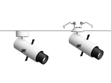 Luminária en carril LED de alumínio fundido PALCO LOW VOLTAGE FRAMER | Luminária en carril