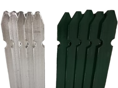 Iron or PVC Fence 'T'-SHAPE POST FOR FENCE