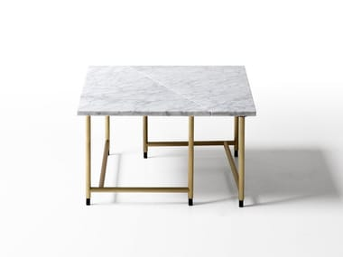 Square marble coffee table PALLADIO | Square coffee table