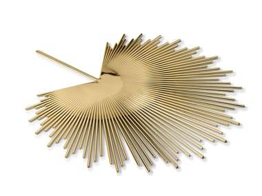 Brass tray PALM