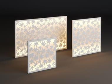 LED metal wall lamp PANEL KLON