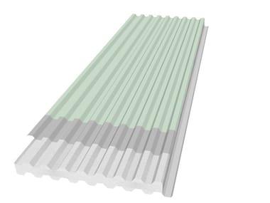 Insulated metal panel for roof PANEL R-GG TPO