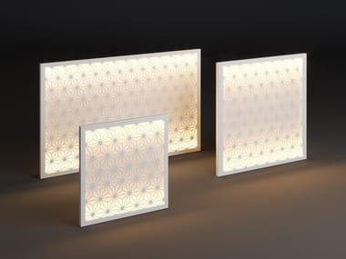 LED metal wall lamp PANEL STAR