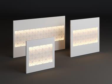 LED metal wall lamp PANEL TILE STRIP