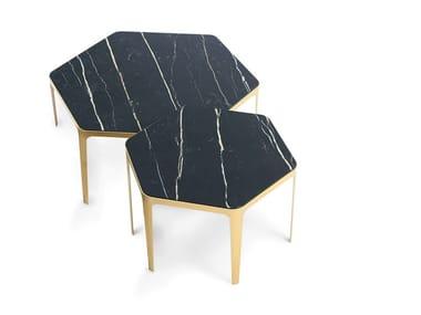 Hexagonal ceramic coffee table PANORAMA   Coffee table