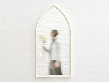 Wall-mounted framed mirror PANORAMI GOTHIC